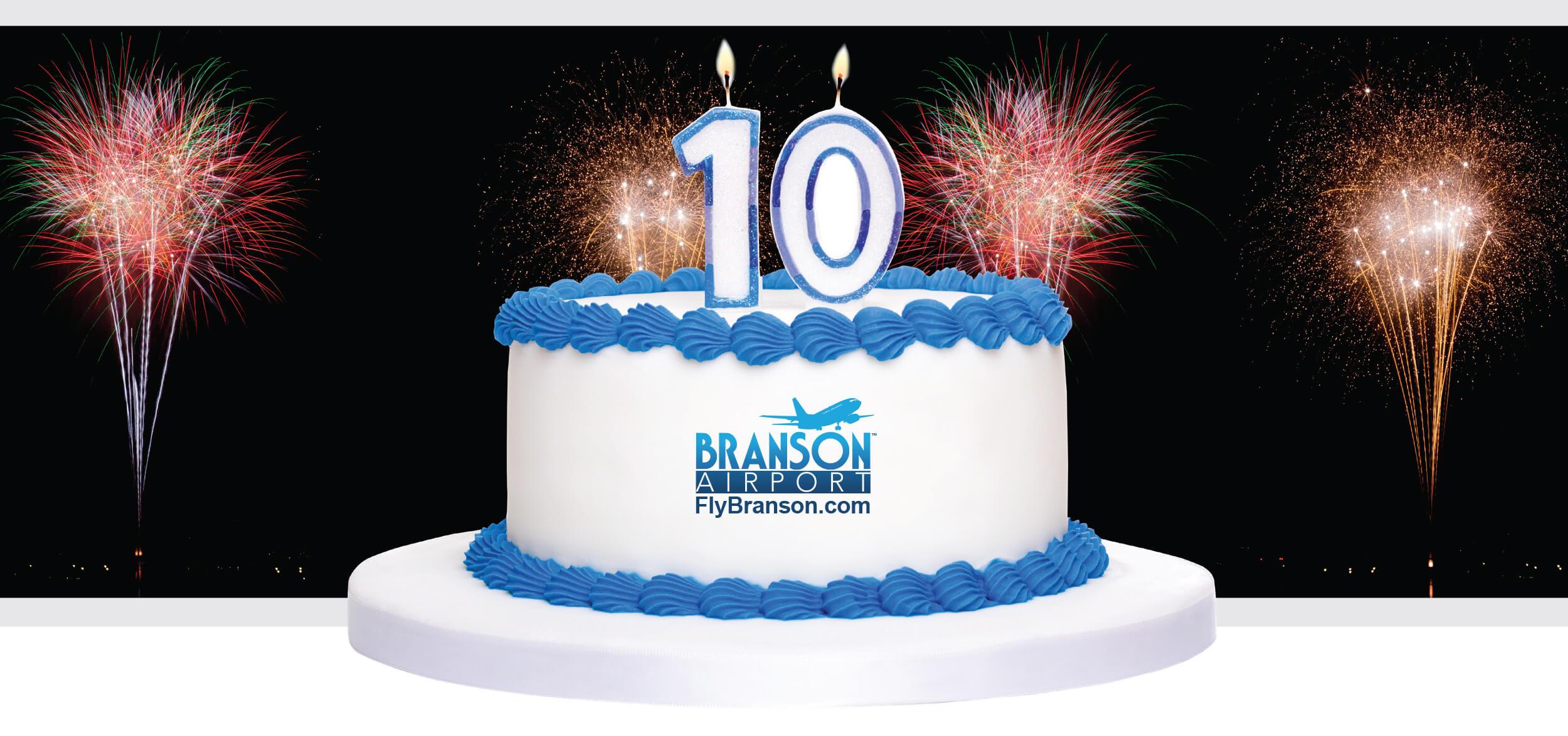 Branson Airport 10 years